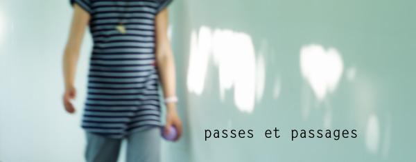 Passes et passages