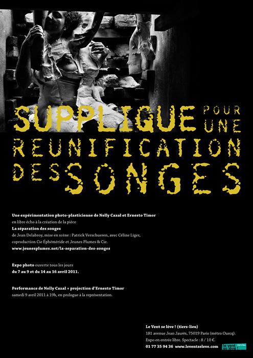 Supplique pour une réunification des songes : Paris, 2011