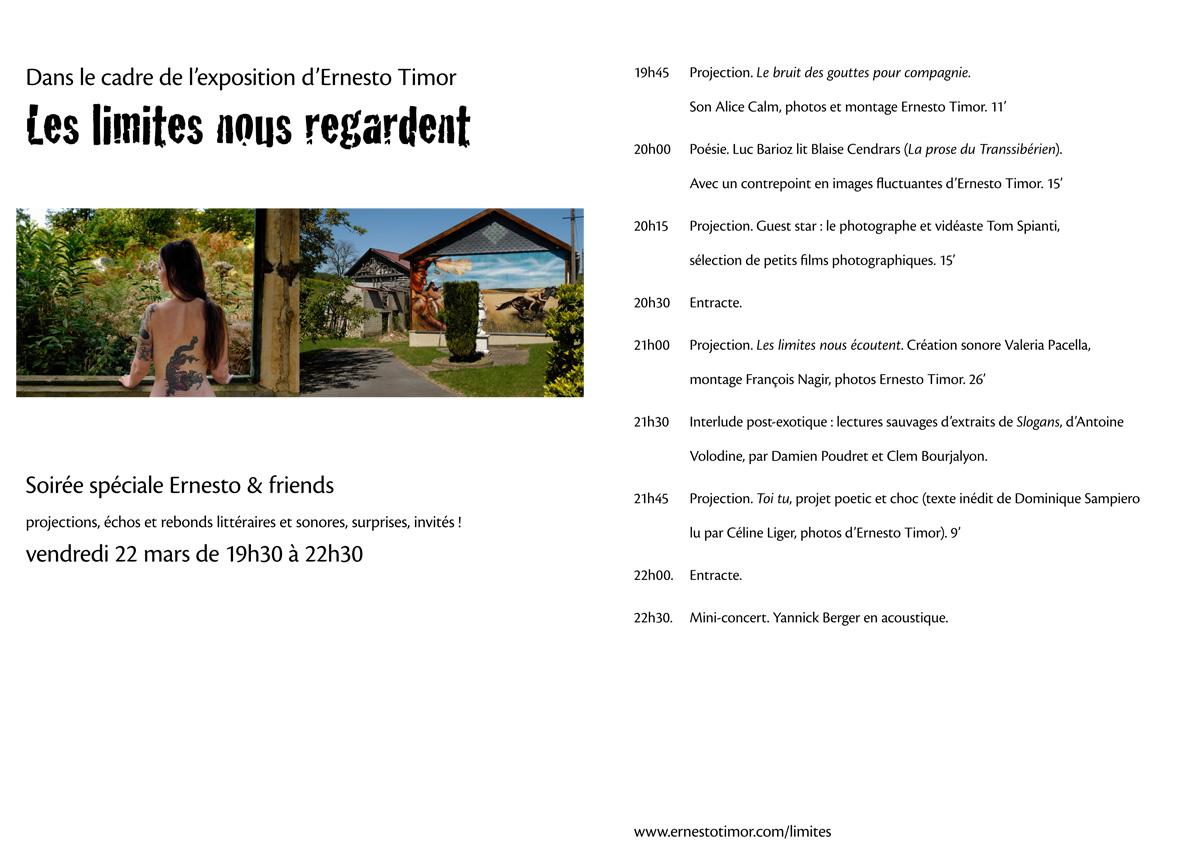 Limites 2013 : souvenirs magnétiques