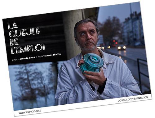 Couverture dossier La gueule de l'emploi © Ernesto Timor