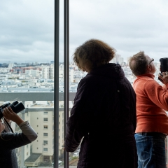 Diane, Carole et Chris, Paris 19e.