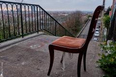 Lyon, Croix Rousse, le 22 mars 2020.