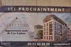 Lyon, Croix Rousse, le 25 mars 2020.