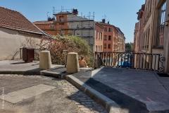 Lyon, Croix Rousse, le 9 avril 2020.