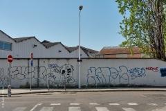 Lyon, Vaise, le 11 avril 2020.