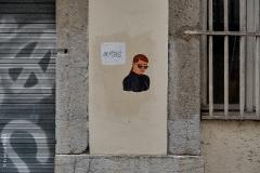 Lyon, Croix Rousse, le 23 avril 2020.