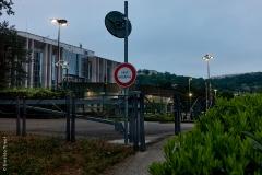 Lyon, Cité Internationale, le 27 avril 2020.
