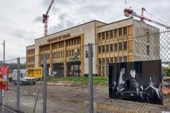 Lyon, Confluence, le 28 avril 2020.