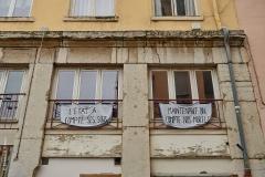 Lyon, Croix Rousse, le 3 mai 2020.